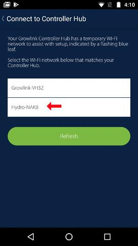 Matching Wifi settings 2 android